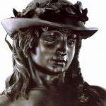 Донателло Давид, деталь 1444-1446 Высота: 158 см Бронза Флоренция. Национальный музей Барджелло