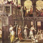 Тинторетто, Якопо Девы мудрые и неразумные Вторая половина 16 века Холст, масло Роттердам. Музей Бойманса-ван Бёйнингена
