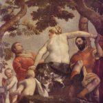 Веронезе, Паоло Измена Около 1565 191 x 191 см Холст, масло Лондон. Национальная галерея