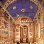 Джотто ди Бондоне. Интерьер капеллы Арена в Падуе. Общий вид. 1304-1306