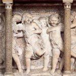 Донателло Кафедра певчих, деталь 1433-1438 Мрамор, мозаика Флоренция. Музей собора