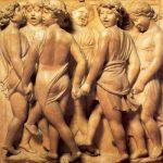 Роббиа, Лукка делла Кафедра певчих 1431/1432-1438 328 x 560 см Мрамор Флоренция. Музей собора