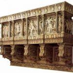 Донателло Кафедра певчих 1433-1438 Мрамор, мозаика Флоренция. Музей собора