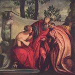 Веронезе, Паоло Купание Сусанны Вторая треть 16 века 198 x 198 см Холст, масло Париж. Лувр