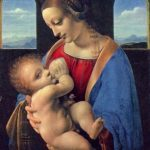 Леонардо да Винчи Мадонна Литта Около 1490 42 x 33 см Дерево, темпера Санкт-Петербург. Государственный Эрмитаж
