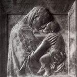 Донателло Мадонна Пацци Около 1417-1418 74,5 x 69,5 см Мрамор Берлин. Государственный музей