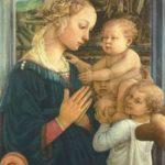 Липпи, Фра Филиппо Мадонна с двумя ангелами Вторая треть 15 века 92 x 63 см Дерево Флоренция. Галерея Уффици