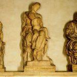 Микеланджело Буонаротти Мадонна с младенцем между Св. Козмой и Дамианом Флоренция