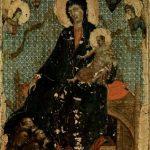 Дуччо ди Буонинсенья. Мадонна францисканцев. Около 1300