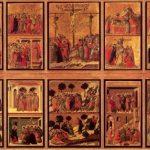 Дуччо ди Буонинсенья. Маэста, с 26 сценами из Страстей. 1308-1311