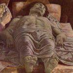 Мантенья, Андреа Мертвый Христос Около 1490-1500 66 x 81 см Дерево, темпера Милан. Пинакотека Брера