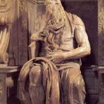 Микеланджело Буонаротти Моисей 1513-1516 Высота: 235 см Мрамор Рим. Сан Пьетро ин Винколи