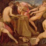 Тинторетто, Якопо Музицирующие женщины Вторая половина 16 века 142 x 214 см Холст, масло Дрезден. Картинная галерея