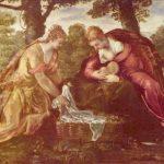 Тинторетто, Якопо Нахождение Моисея Вторая половина 16 века 76,3 x 132 см Холст, масло Нью-Йорк. Музей Метрополитен