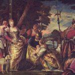 Веронезе, Паоло Нахождение Моисея Вторая треть 16 века 178 x 277 см Холст, масло Дрезден. Картинная галерея