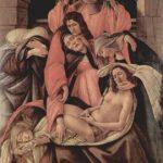 Боттичелли, Сандро Оплакивание Христа Около 1495 107 x 71 см Дерево, темпера Милан. Музей Польди Пеццоли