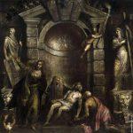 Оплакивание Христа 1576 галерея Академии Венеция