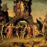 Мантенья, Андреа Парнас 1497 160 x 192 см Холст Париж. Лувр