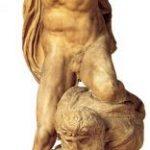 Микеланджело Буонаротти Победа Около 1520-1525 Высота: 261 см Мрамор Флоренция. Палаццо Веккио