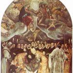 Эль Греко Погребение графа Оргаса Около 1586 480 x 360 см Холст, масло Толедо. Сан Томе