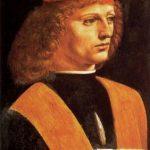 Леонардо да Винчи Портрет музыканта Около 1490 40,6 x 30,1 см Холст, масло Милан. Библиотека Амброзиана