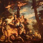 Веронезе, Паоло Похищение Европы Около 1580 240 x 303 см Холст Венеция. Дворец Дожей