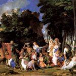 Мантенья, Андреа Празднество богов 1514 170 x 188 см Холст, масло Вашингтон (округ Колумбия). Национальная галерея
