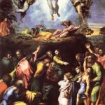 Рафаэль Санти. Преображение Христа. Около 1518