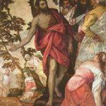 Веронезе, Паоло Проповедь Иоанна Крестителя Вторая треть 16 века 208 x 140 см Холст, масло Рим. Галерея Боргезе