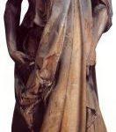 """Донателло Пророк Аввакум (""""Цукконе"""") 1423-1426 Высота: 195 см Мрамор Флоренция. Музей собора"""