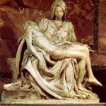 Микеланджело Буонаротти Пьета 1497-1499 Высота: 174 см Мрамор Рим. Собор Святого Петра