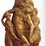Микеланджело Буонаротти Пьета Около 1547-1555 Высота: 226 см Мрамор Флоренция. Музей собора