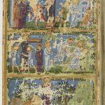 Распятие Спасителя, Иосиф и Никодим кладут тело Христа в гроб, Явление воскресшего Христа Марии Магдалине