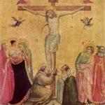 Джотто ди Бондоне. Распятие между Марией и Иоанном. Около 1300