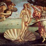 Боттичелли, Сандро Рождение Венеры Около 1485 172,5 x 278,5 см Холст, темпера Флоренция. Галерея Уффици