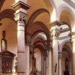 Брунеллески, Филиппо Санто Спирито. Полуциркульные арки нефа и трансепта Около 1434 Флоренция. Санто Спирито