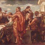 Веронезе, Паоло Свадьба в Кане Галилейской Вторая треть 16 века 207 x 457 см Холст, масло Дрезден. Картинная галерея