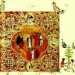 Свт. Григорий Богослов и его отец проповедуют христианам Назианза