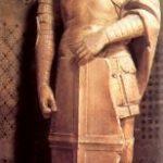 Донателло Св. Георгий 1416-1417 Высота: 209 см Мрамор Флоренция. Музей собора