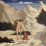 Доменико Венециано Св. Иоанн в пустыне Около 1445 28,5 x 32,5 см Дерево Вашингтон (округ Колумбия). Национальная галерея