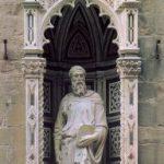 Донателло Св. Марк 1411-1413 Высота: 236 см Мрамор Флоренция. Орсанмикеле