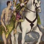 Эль Греко Св. Мартин и нищий Около 1597-1599 98 x 191 см Холст, масло Вашингтон (округ Колумбия). Национальная галерея