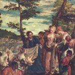 Веронезе, Паоло Спасение младенца Моисея из вод Нила Вторая треть 16 века 50 x 43 см Холст, масло Мадрид. Прадо