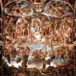 Микеланджело Буонаротти Страшный суд 1534-1541 17 x 13,3 см Фреска Рим. Сикстинская капелла