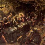 Тинторетто, Якопо Тайная вечеря 1592-1594 365 x 568 см Холст Венеция. Сан Джорджо Маджоре