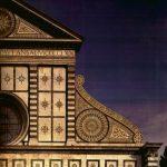 Альберти, Леон Баттиста Темпьетто дель Санто Сеполькро. Верхняя часть фасада Флоренция. Санта Мария Новелла