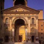 Альберти, Леон Баттиста Темпьетто дель Санто Сеполькро. Западный фасад Начат около 1471 Флоренция. Санта Мария Новелла