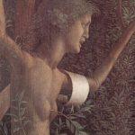 Мантенья, Андреа Торжество Добродетели Около 1504 106 x 192 см Холст, темпера Париж. Лувр
