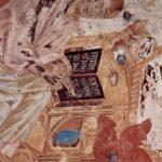 Чимабуэ, Джованни. Фрески Верхней церкви Сан Франческо в Ассизи, фреска на средокрестном своде, сцена: св. Лука. 1280-1283