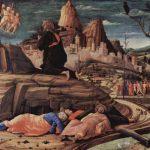 Мантенья, Андреа Христос в Гефсиманском саду (Моление о чаше) 1455 63 x 80 см Дерево, темпера Лондон. Национальная галере